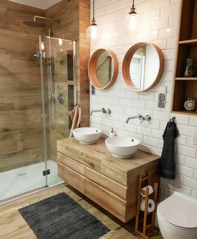 izaberite drvene plocce za svoje kupatilo