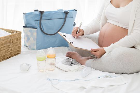 trudnica se sprema za porodjaj